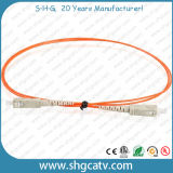 Het hoge MultiKoord van het Flard van de Vezel van de Wijze Reliablity Simplex Optische (SC/PC)