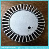 Profil en aluminium industriel de radiateur de précision
