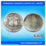 Модная Sportive монетка металла с логосом плиты золота