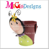 Hot Sale Fox Figures Metal Garden Flower Planter Design exclusivo