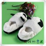 Movely adorable panda de peluche suave Antiskid hogar hogar interior zapatillas
