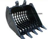 Fornecedor de China da cubeta de esqueleto para a cubeta da máquina escavadora/cubeta da escavadora