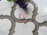 Tuiles de mosaïque en verre de jet d'eau de mélange de marbre (CFW68)