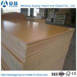 Papel de melamina garantia comercial madeira contraplacada sobrepostas