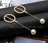 Il Brooch della perla dei monili del metallo di modo copre i perni dello scialle della decorazione