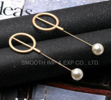 Fashion Metal Jewelry Pearl Brooch Clothes Decoration Shawl Pins