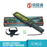 Suono del metal detector di uso della protezione/metal detector Portable di vibrazione/dell'indicatore luminoso