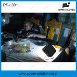 2 anos de garantia de preço acessível Mini candeeiro de secretária Solar com bateria de LiFePO4