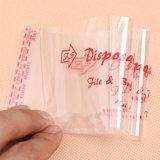 ポリ袋を包むTransprentの接着剤OPPの自己接着シールのポリ袋