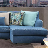 거실을%s 현대 Design Blue Corner Fabric Sofa