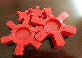 La L digita l'accoppiamento dell'unità di elaborazione, accoppiamento di gomma con il colore rosso