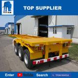 Titan-Fahrzeug - 40 FT-Behälter-Chassis-Skeleton Sattelschlepper für Verkauf