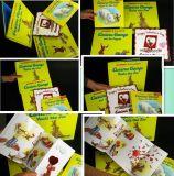 Impression de livres colorés pour enfants en papier stratifié / Livre visible en eau avec des feuilles minces