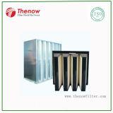 Compacte Filter voor de Filtratie van de Inham van de Lucht van de Turbine van het Gas, de Filtratie van het Tweede Stadium