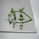 Belle n ° 8 Super miroir Finish Silver Color Plaque en acier inoxydable pour décoration de l'hôtel