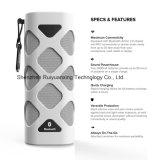 Altoparlante portatile di Bluetooth con il microfono incorporato (bianco)