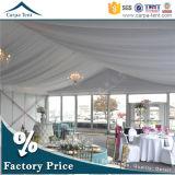Estrutura modular do Projecto Europeu 18m*25m parte tenda a cerimônia de vidro