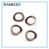 Personnaliser la rondelle à ressort d'onde de l'acier inoxydable DIN137