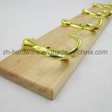 나무로 되는 고급 아름다운 옷 훅 & 금속 널 훅 (ZH-7027)