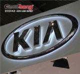 Etiqueta do logotipo Thermoforming LED Sign Logotipo do carro