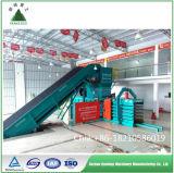 Квадратный горизонтальный гидравлический пресс с конвейера завода по переработке
