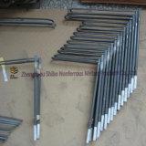 Elementi riscaldanti per la fornace, tipo riscaldatore di Metatypical del Rod del disiliciuro del molibdeno
