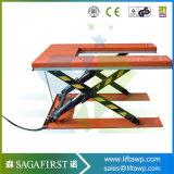 1ton au levage de cargaison de Tableau de ciseaux de hauteur du profil bas 3ton