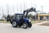 50HP tracteur avec chargeur frontal