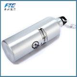 Bottiglia di acqua su ordine dell'alluminio di marchio 600ml della bottiglia di acqua della bici