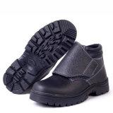 労働者のための中間の足首ライト革安全靴