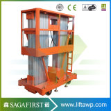 6m bis 12m Hotel-Gebrauch-leichte Aluminiumlegierung-Aufzug-Plattformen
