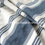 Mezcla del algodón imprime la tela de lino para prendas de vestir / Cortina / Tapicería