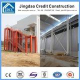 Construction en acier de structure d'isolation de fibres de verre