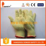 La mesure 10 Aramid de Ddsafety 2017 a tricoté le gant résistant de travail de coupure