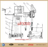 Консольный тип машина автоматной сварки H-Beam/машина автоматной сварки для стального изготовления