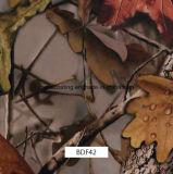 屋外のItmesおよび銃(BDF42)のための葉のCamoパターンハイドロフィルム
