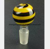 Mannelijke Mond 14.5mm, 18.8mm de Waterpijp van de bij van het Glas van Montage