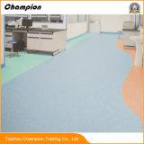 Suelo comercial para el hospital, suelo antibacteriano de PVC/Vinyl del hospital del PVC