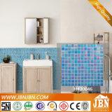 Rainbow bleu, Salle de bains, piscine, mosaïque de verre (H420090)