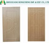 Pelle del portello impiallacciata legno naturale decorativo