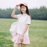 綿の女性ポロシャツ中国製