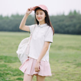 Леди Хлопок рубашки поло в Китае
