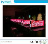 Premier petit Afficheur LED polychrome de publicité de WiFi du taxi P5
