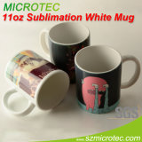 Precio bajo de la taza de cerámica blanca