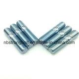 Uni 5911 zinco della vite prigioniera gr. 8.8 dell'estremità di media