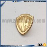 공장 직매 금속 금 거여목 모양 접어젖힌 옷깃 Pin 기장