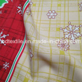 Christmas Printed Mini Matt, tissu de table imprimé 100% Polyester Mini Matt Imprimé