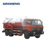 Dongfeng 16000L haute pression chariot d'aspiration des eaux usées de vide