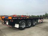 40 pieds de 3axles de châssis de conteneur de remorque squelettique semi