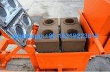 Actionnées à la main de l'argile manuel de machine à fabriquer des briques Qmr2-40 machine à fabriquer des briques en brique Usine du moule